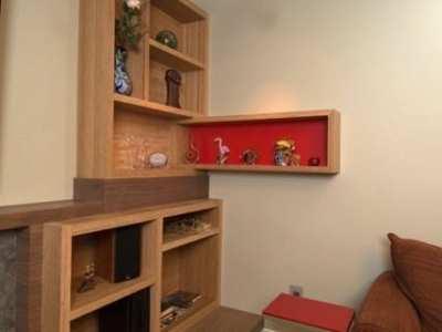Home-Remodeling-Living-Room-Bamboo-Shelving