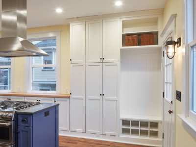 Kitchen-Remodel-Blue-Cabinets-Storage