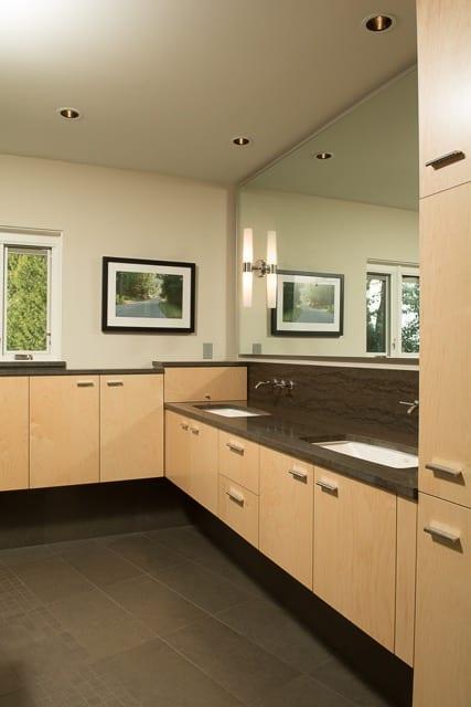 SW Portland Home Remodel Mid Century Bath
